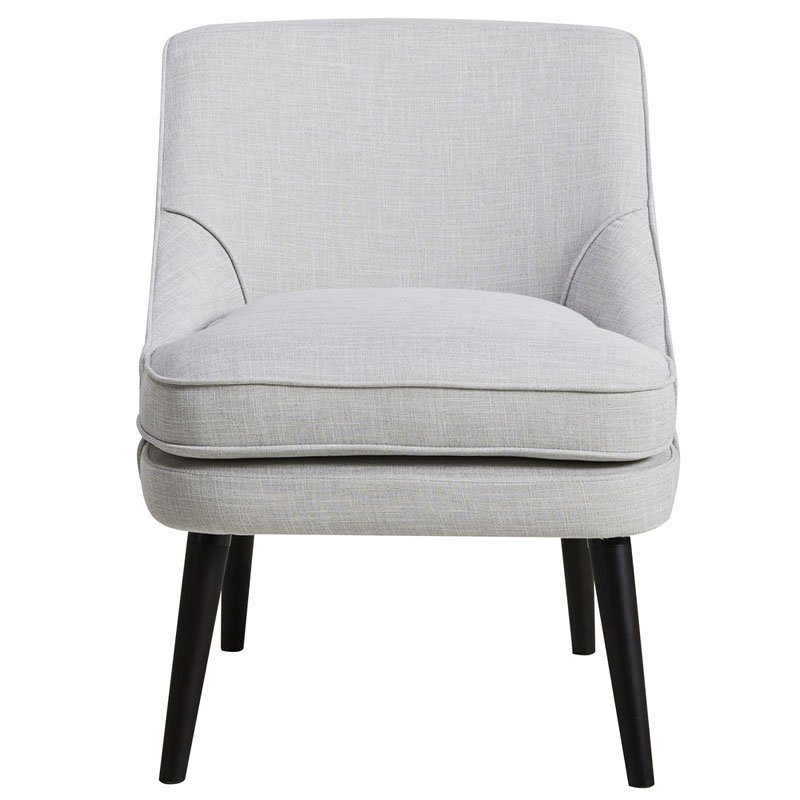 Grey Upholstered Accent Chair By Pulaski Furniture Furniturepick
