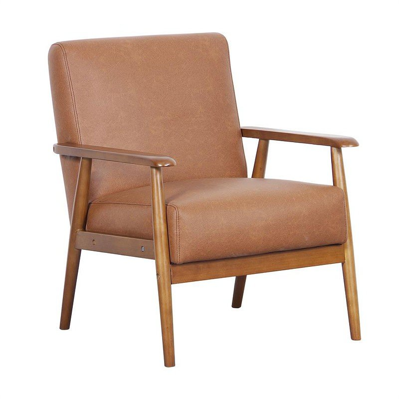 Branchdale Wood Frame Accent Chair: Wood Frame Accent Chair (Brown) By Pulaski Furniture