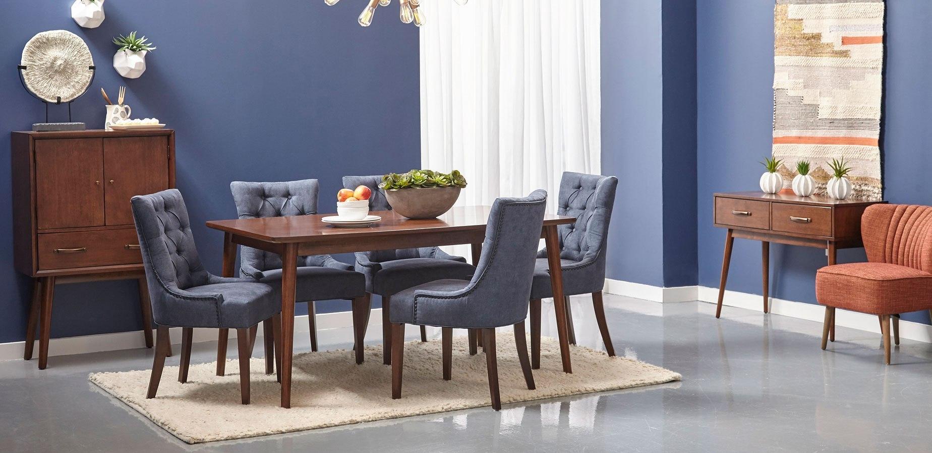 Draper Mid-Century Modern Dining Room Set