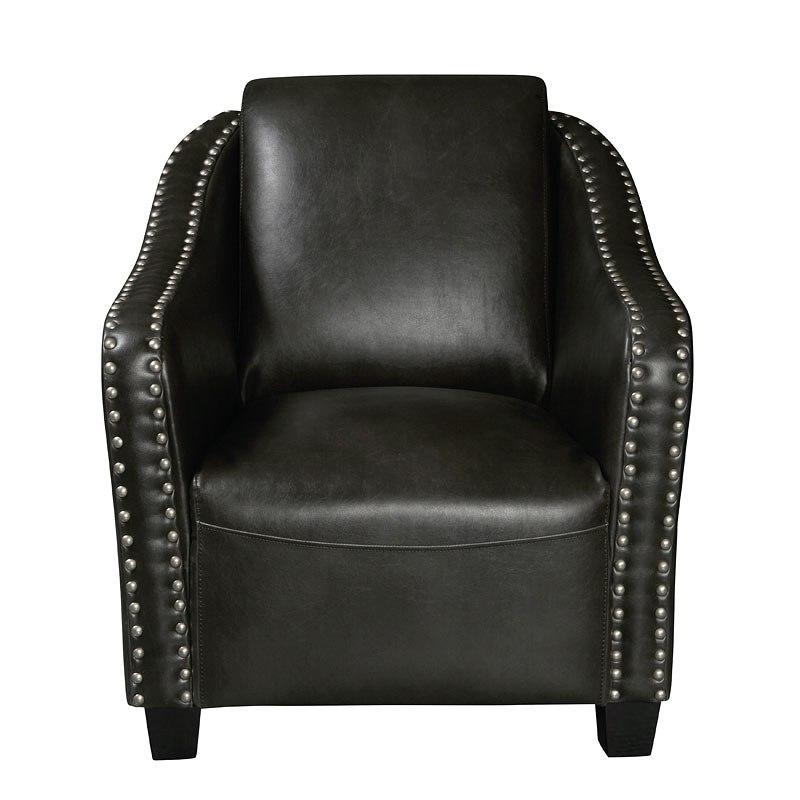 Nail Head Accent Club Chair Grey By Pulaski Furniture Furniturepick