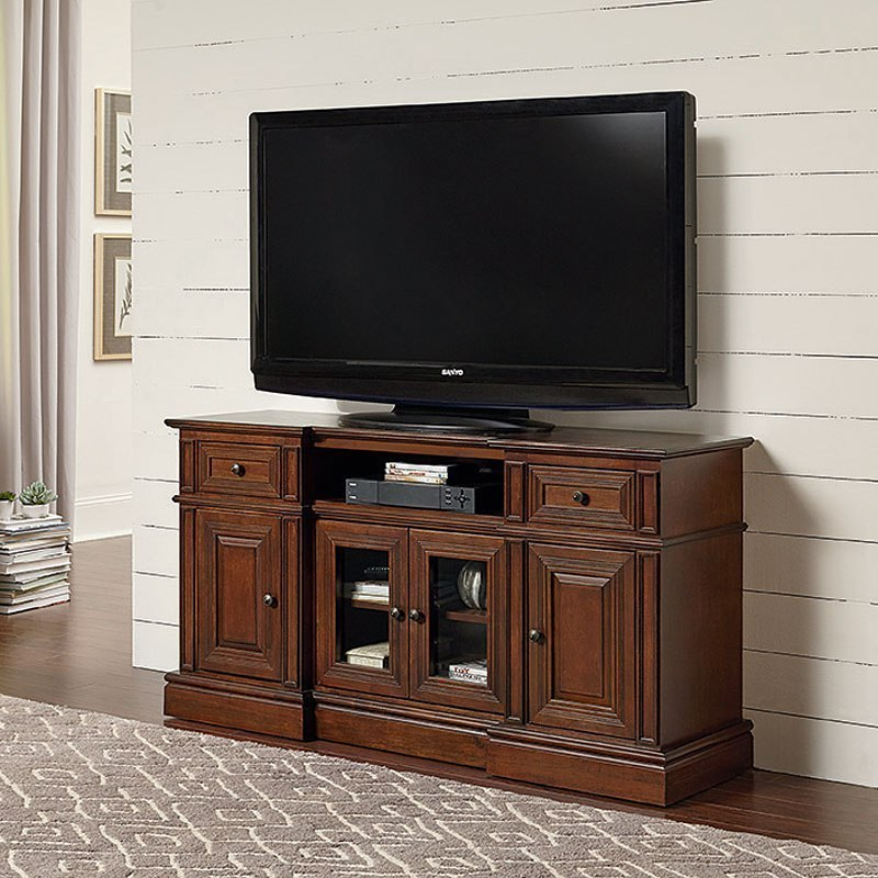 Sullivan 60 Inch Console Cherry Tv Stands And Entertainment