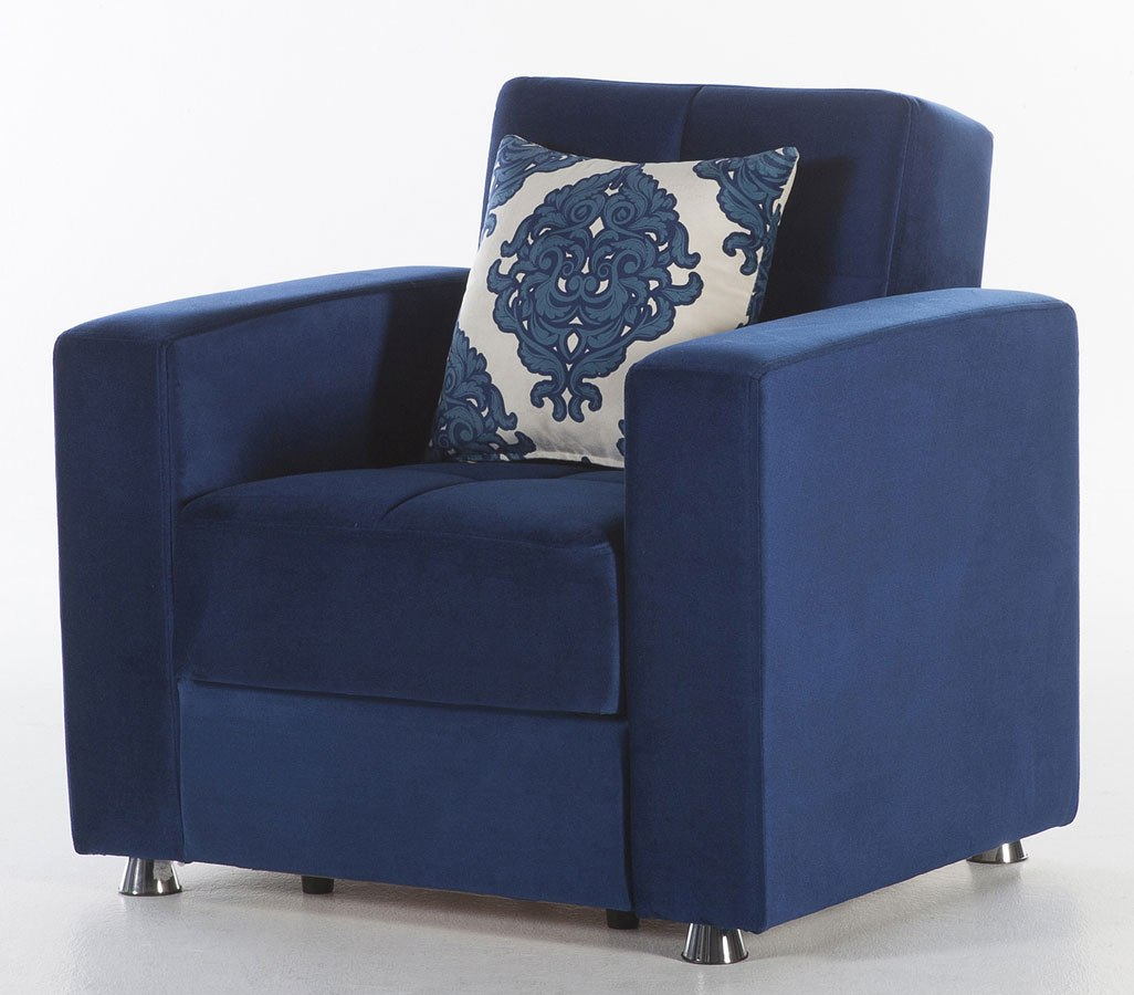 Elegant Armchair (Roma Navy) By Istikbal Furniture | FurniturePick