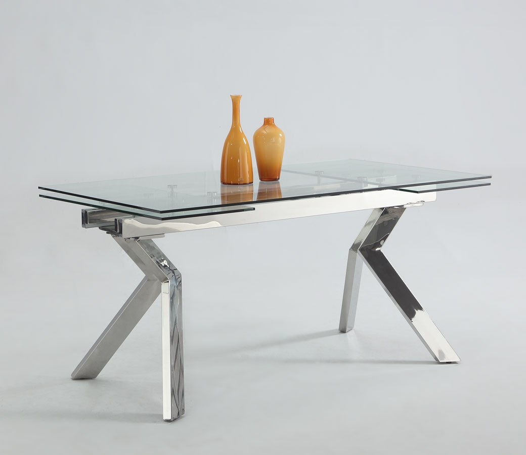 Ella Extendable Dining Table By Chintaly Imports