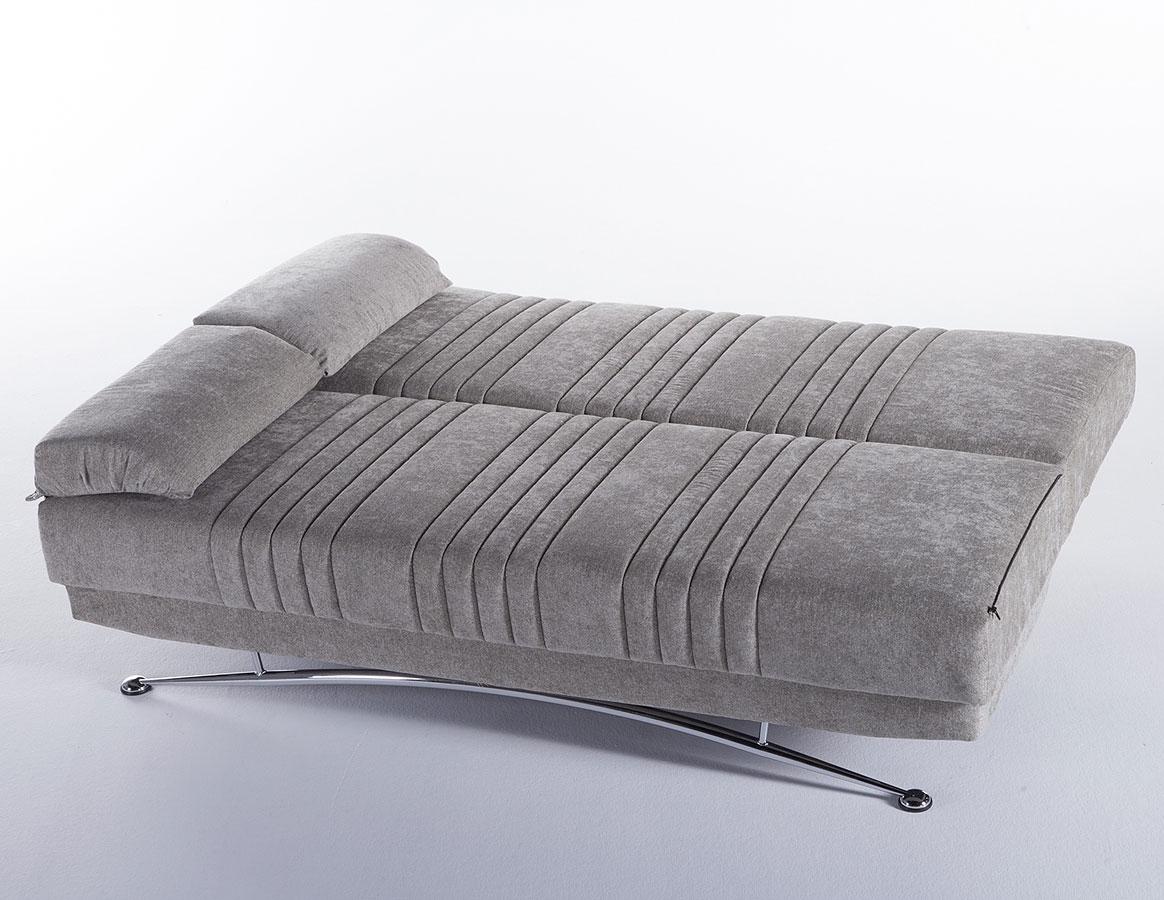 Awesome Fantasy 3 Seat Sleeper Valencia Grey Spiritservingveterans Wood Chair Design Ideas Spiritservingveteransorg