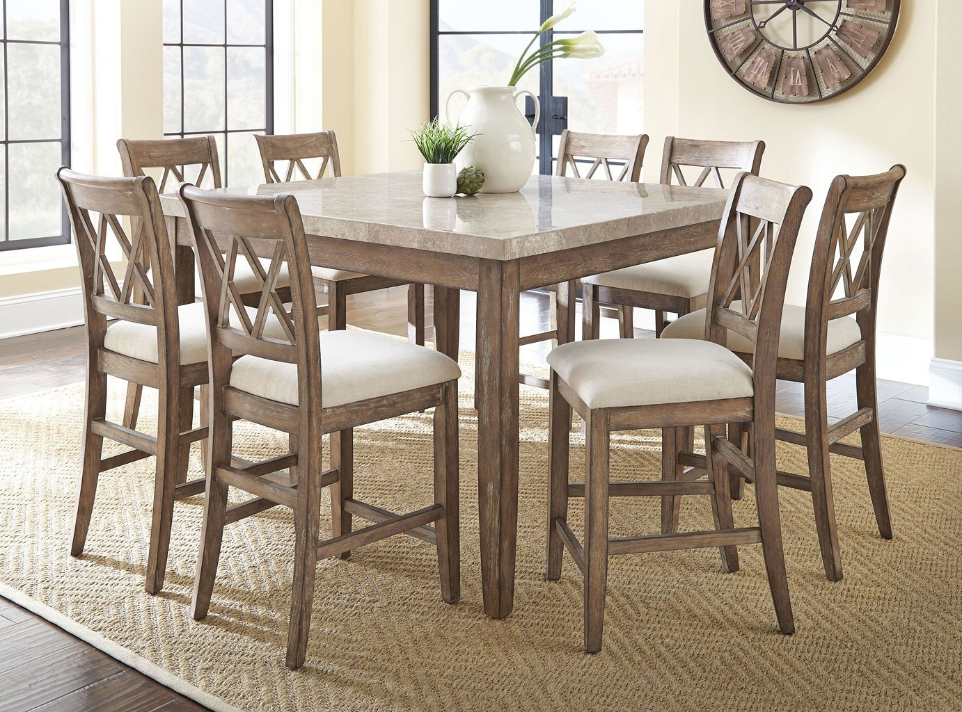 Franco Square Counter Height Dining Set
