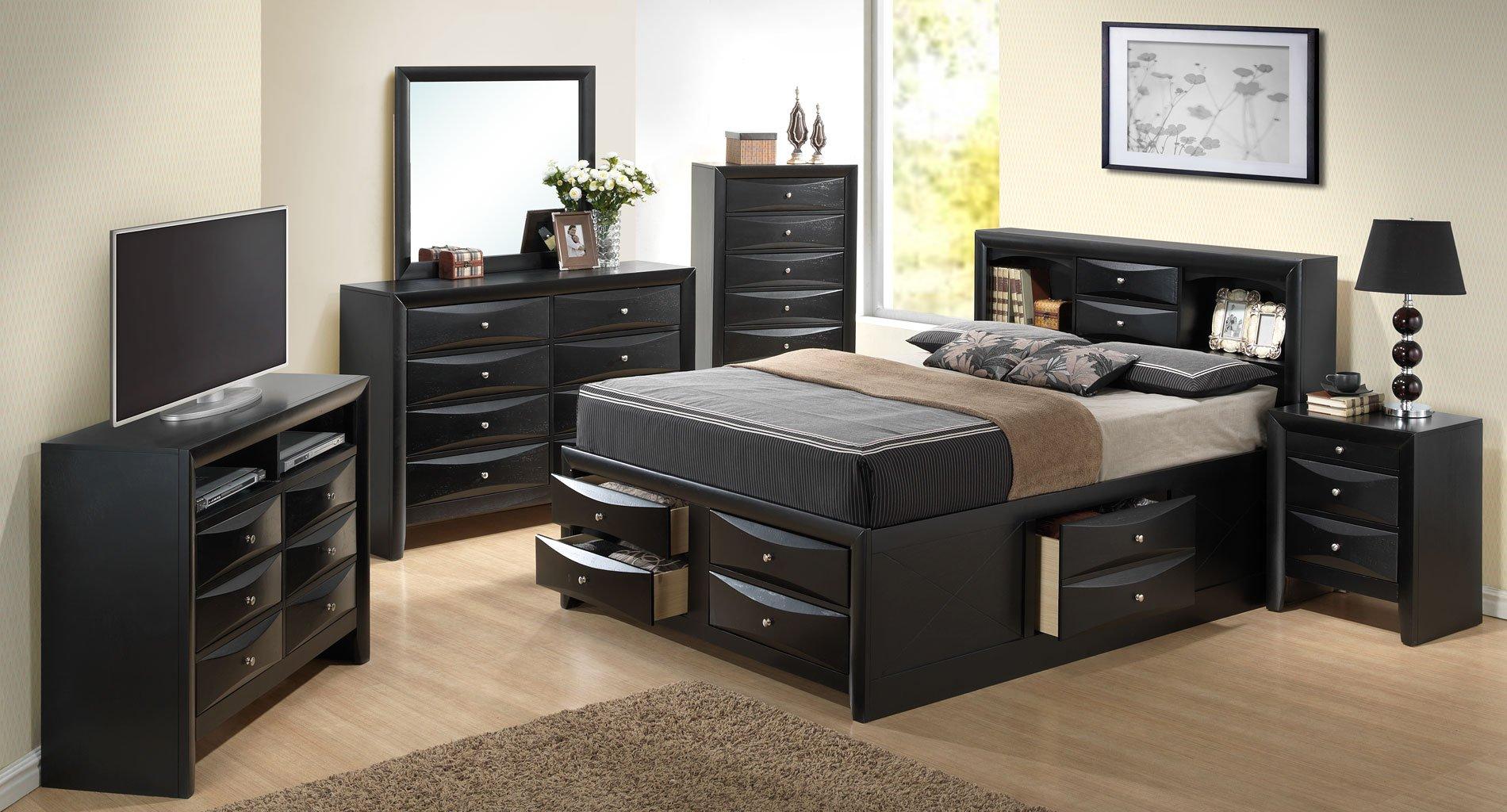G1500G Storage Bedroom Set - Bedroom Sets - Bedroom Furniture ...