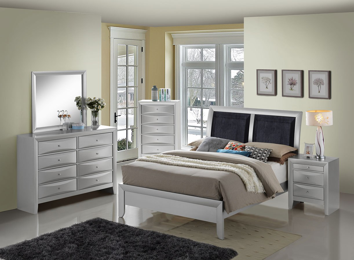 G1503A Low Profile Bedroom Set