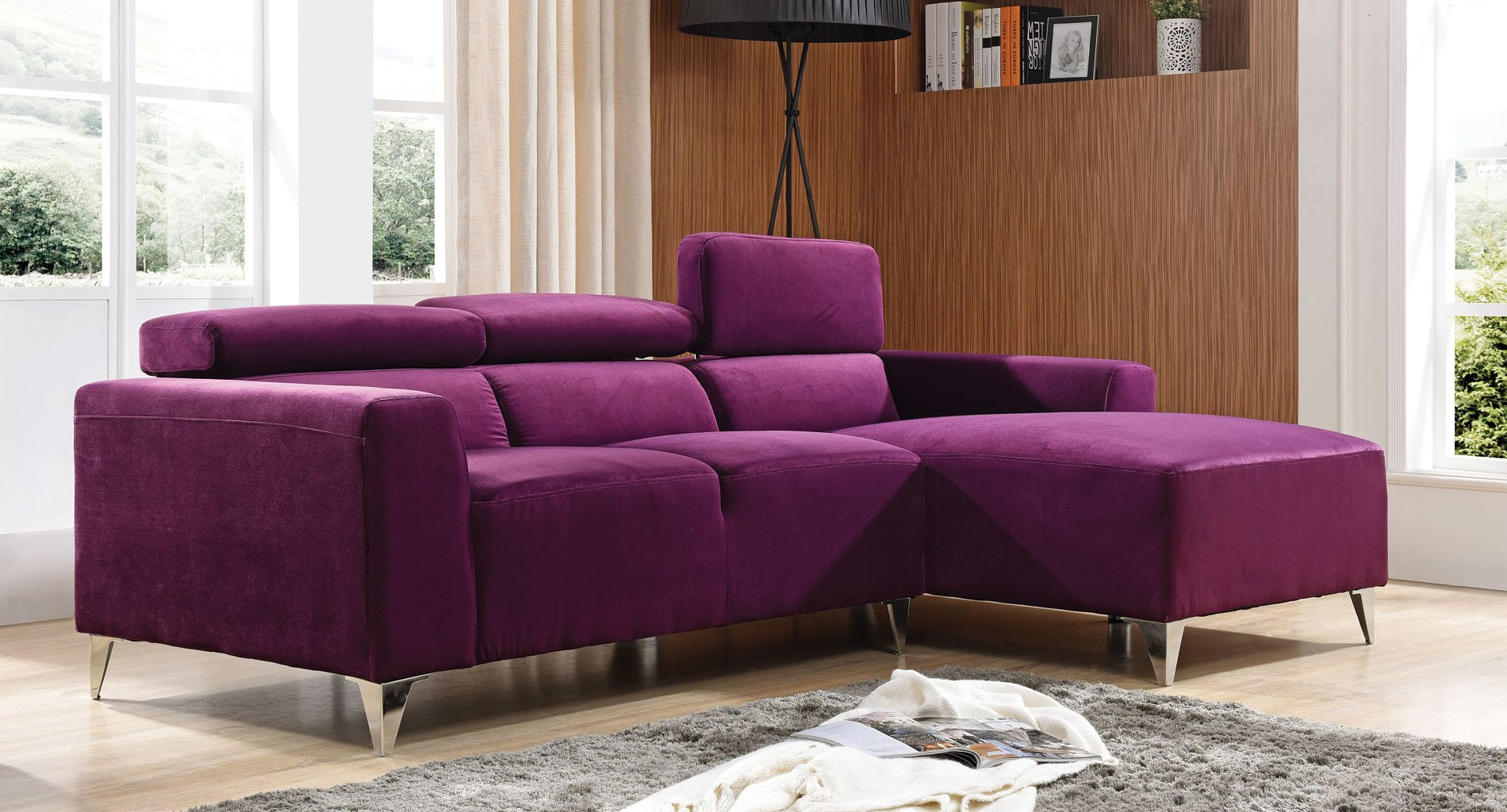 G192 Sectional (Purple)