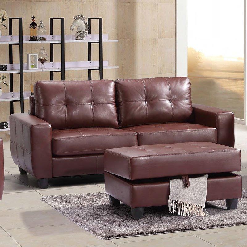 G200 Sofa Brown Sofas Living Room Furniture Living