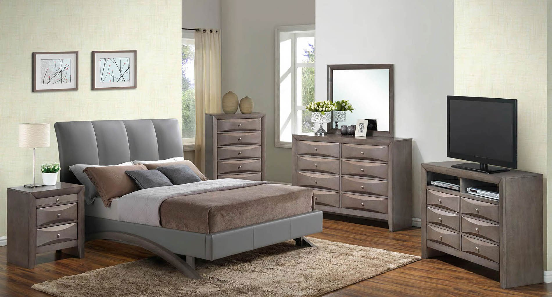 G2546 upholstered bedroom set bedroom sets bedroom furniture bedroom for College bedroom furniture sets