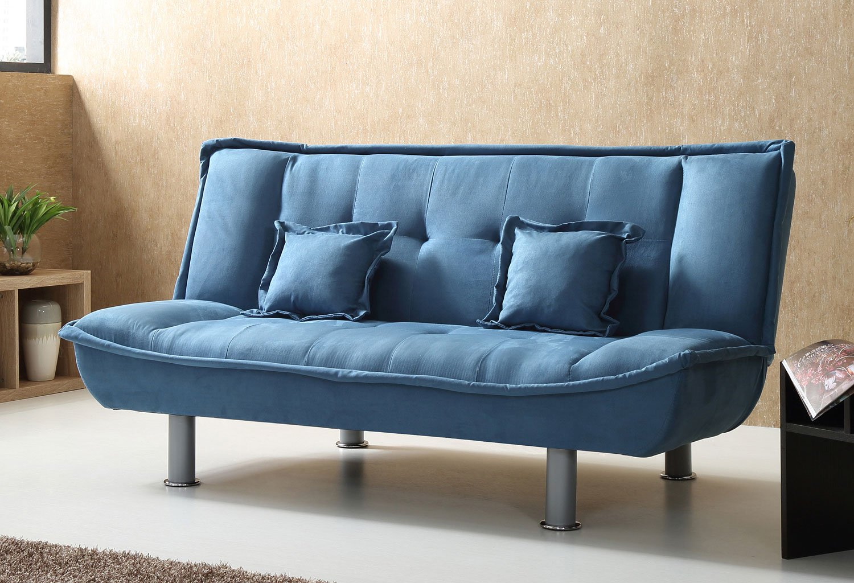 G503 Lite Blue Sofa Bed