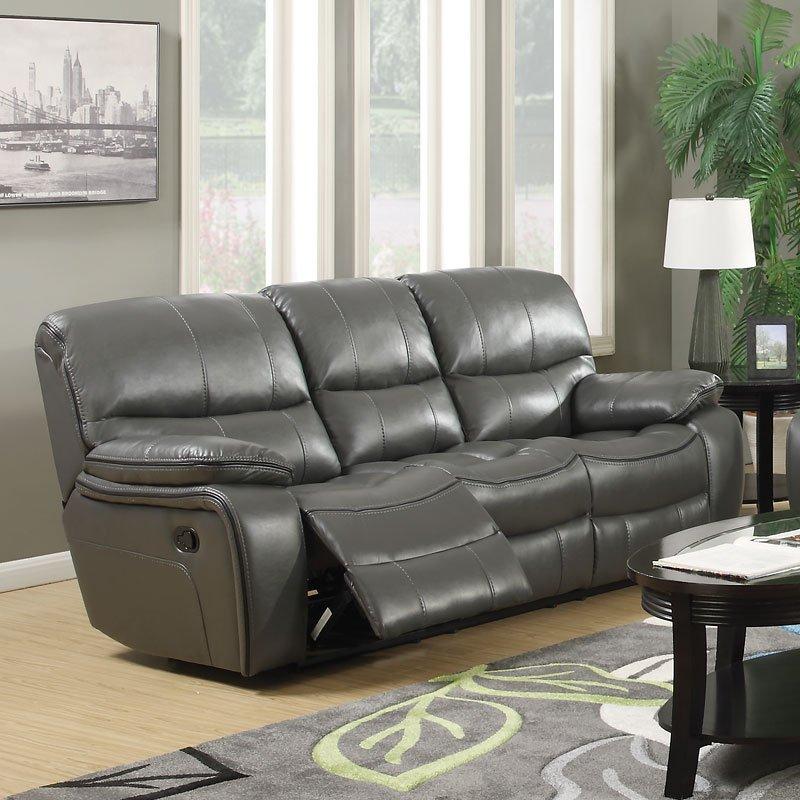 G527 Reclining Sofa Dark Gray