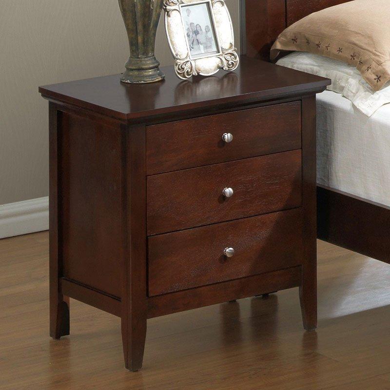 G5425 Nightstand Cappuccino Nightstands Bedroom Furniture Bedroom