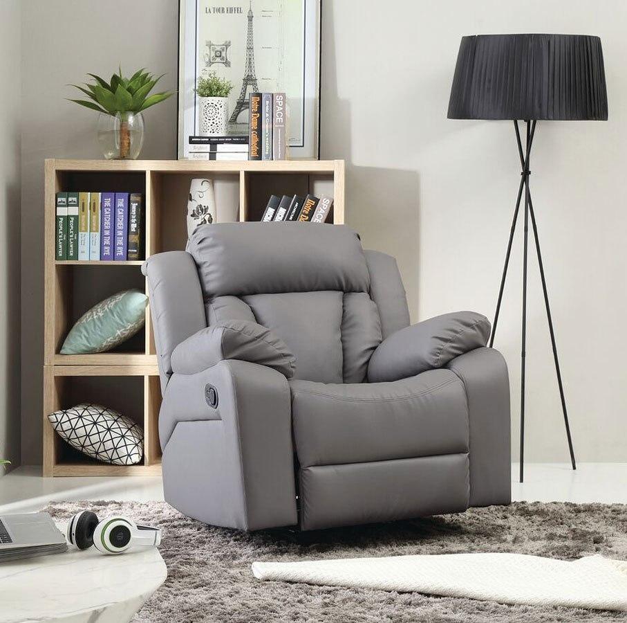 G681 rocker recliner gray