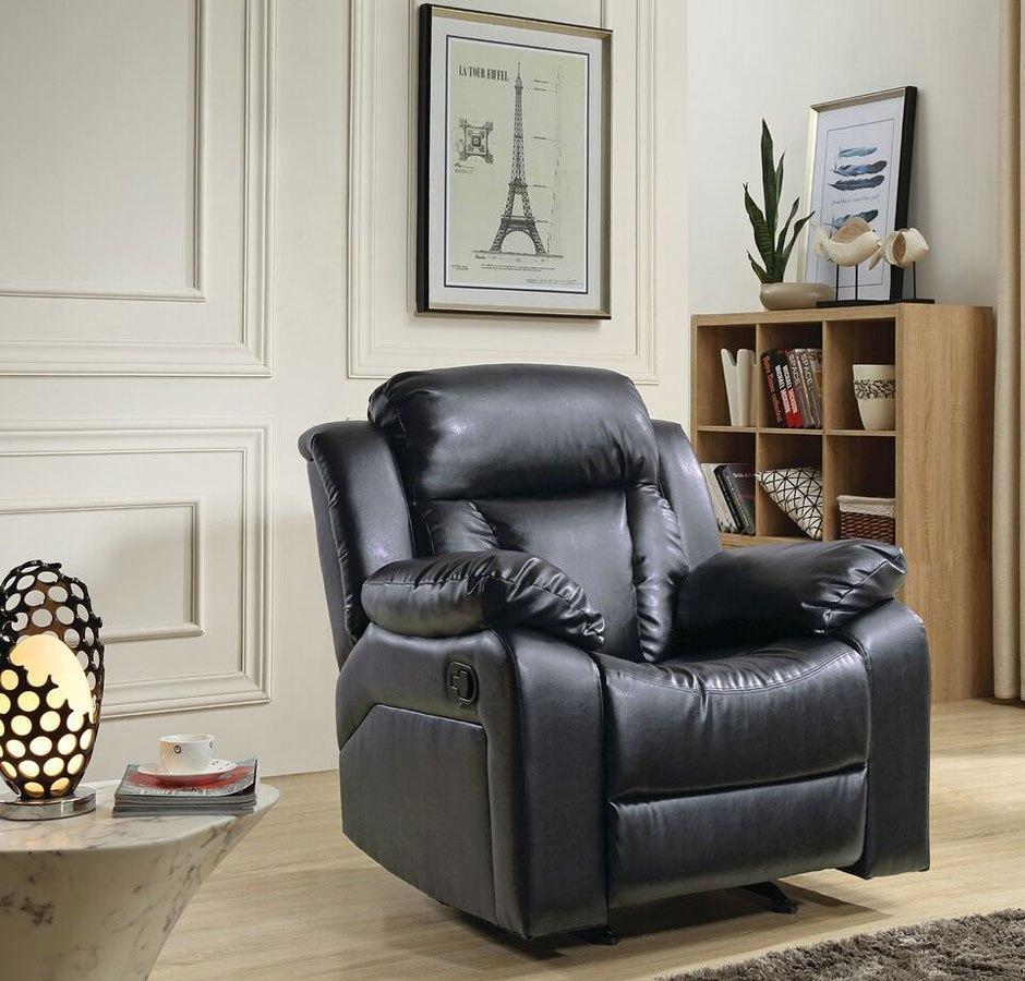 Living Room Furniture Sets Black: G683 Reclining Living Room Set (Black) By Glory Furniture