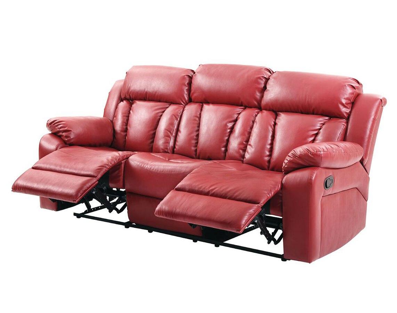G684 Reclining Sofa (Red) by Glory Furniture | FurniturePick