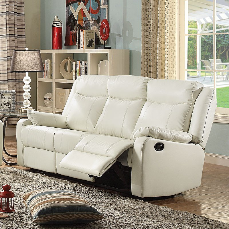 G762 Double Reclining Sofa Pearl By Glory Furniture