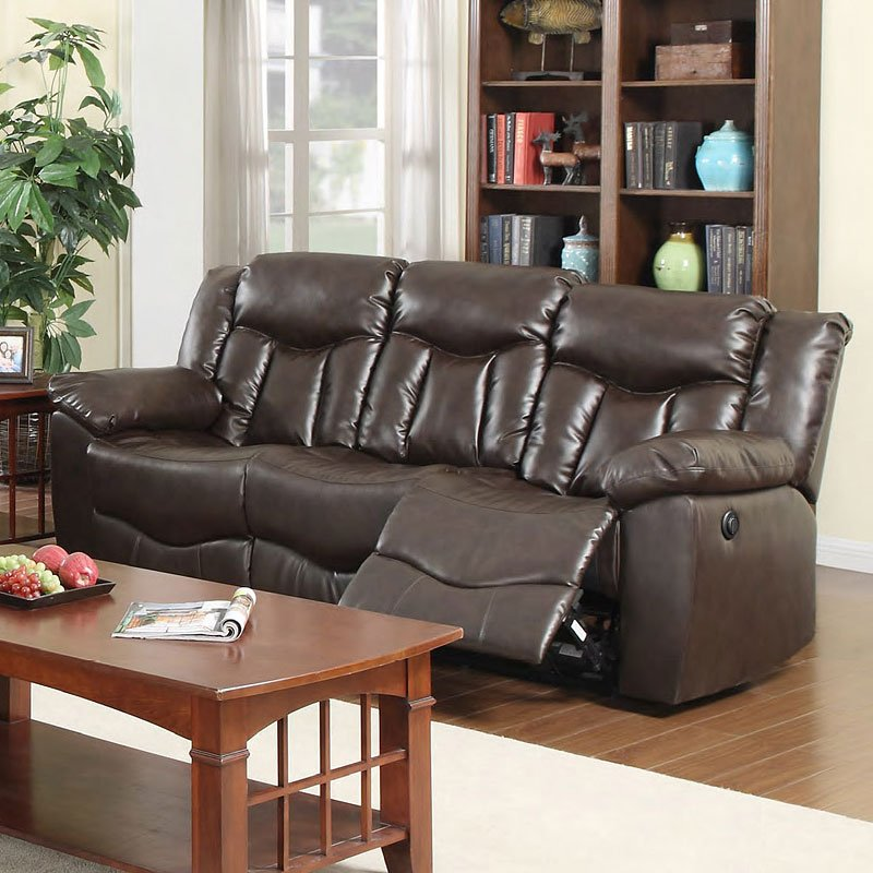G925 Power Reclining Sofa W Drop Down Table By Glory