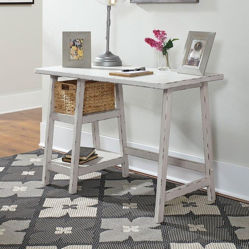 Mirimyn Small Desk (Antique White) - Mirimyn Small Desk (Antique White) - Home Office Furniture - Office