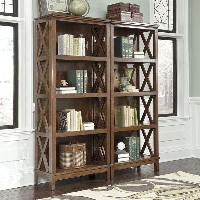 Burkesville Large Bookcase Signature Design By Ashley