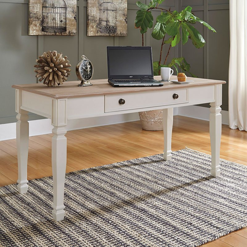 Discontinued Ashley Furniture: Sarvanny Home Office Set By Signature Design By Ashley, 2