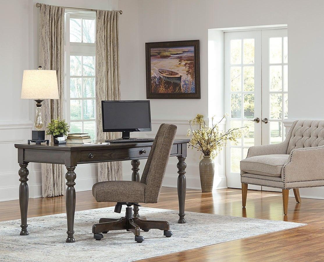 & Devenstead Home Office Set by Signature Design by Ashley | FurniturePick