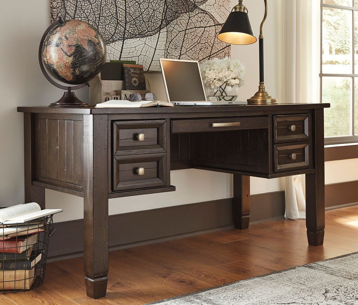 Townser Home Office Desk Home Office Desks Home Office Furniture Home Office