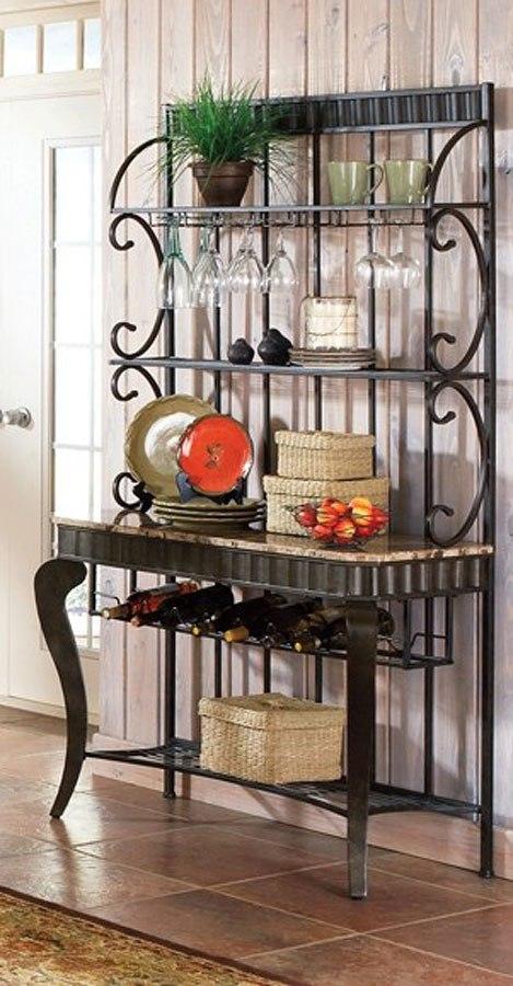 Hamlyn Bakers Rack By Steve Silver Furniture Furniturepick