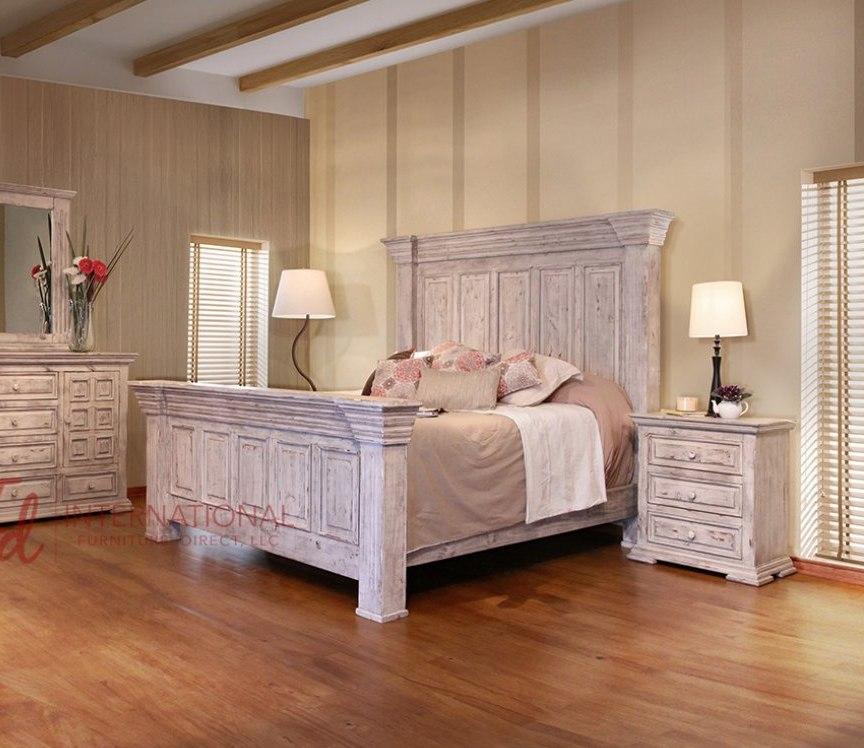 Terra Panel Bedroom Set (White)