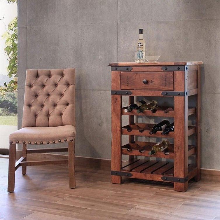 Parota 12 Bottle Wine Rack By Ifd Furniture Furniturepick