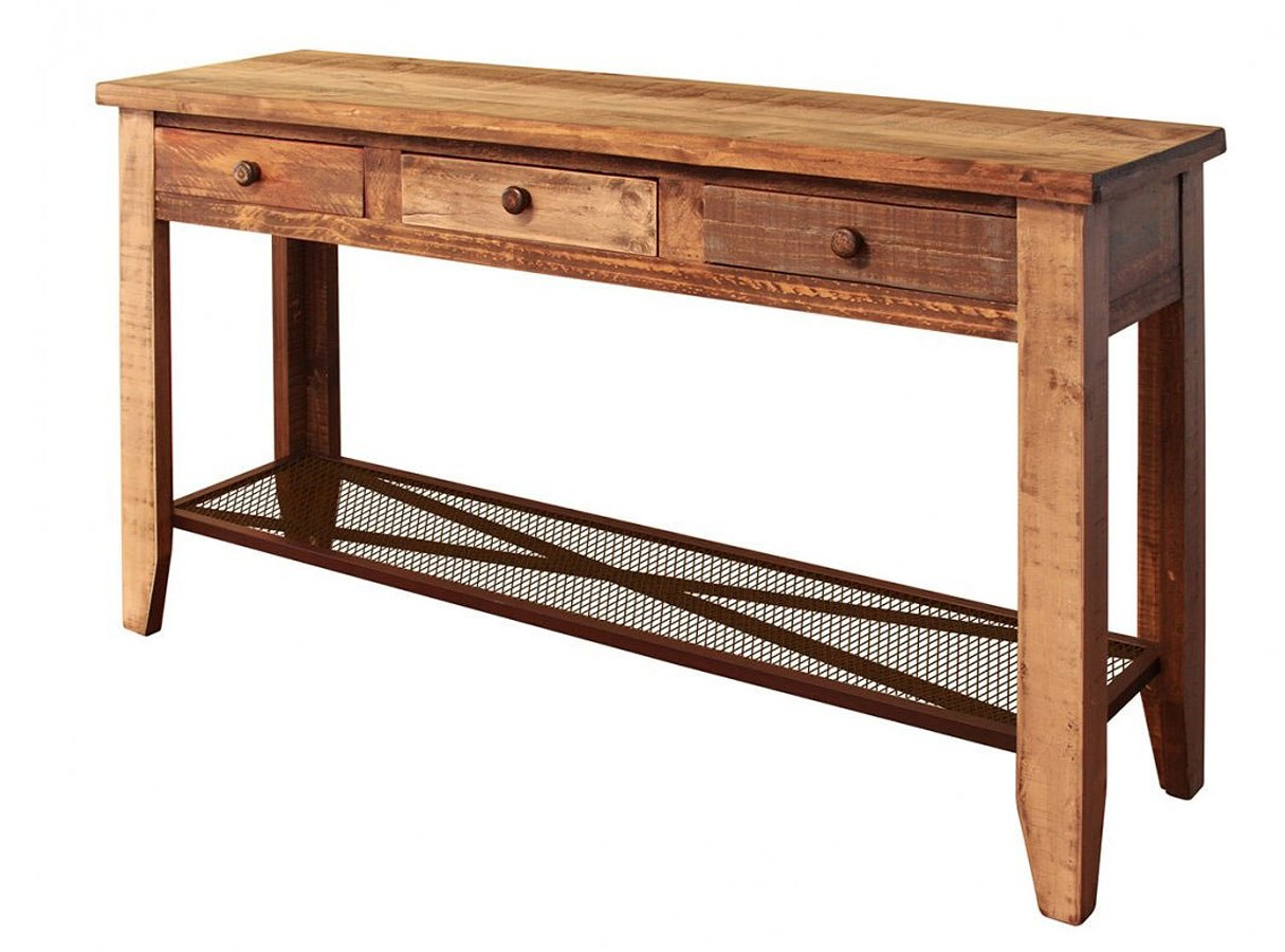 Antique 55 Inch Sofa Table By Ifd Furniture Furniturepick