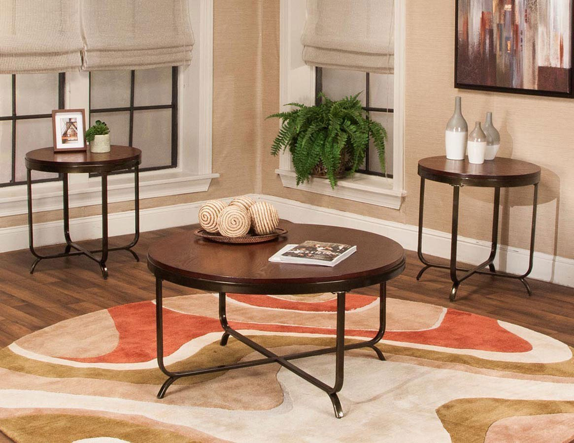 Brazil 3 Piece Occasional Table Set