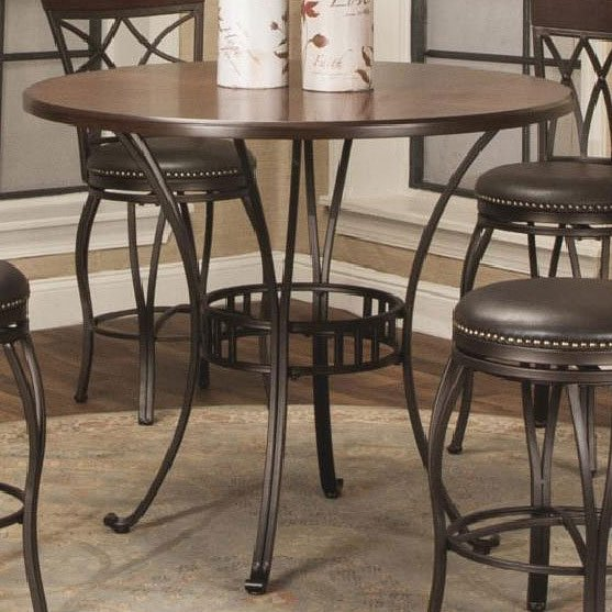 Monza 42 Inch Counter Height Dining Table Counter Height Tables Dining Room And