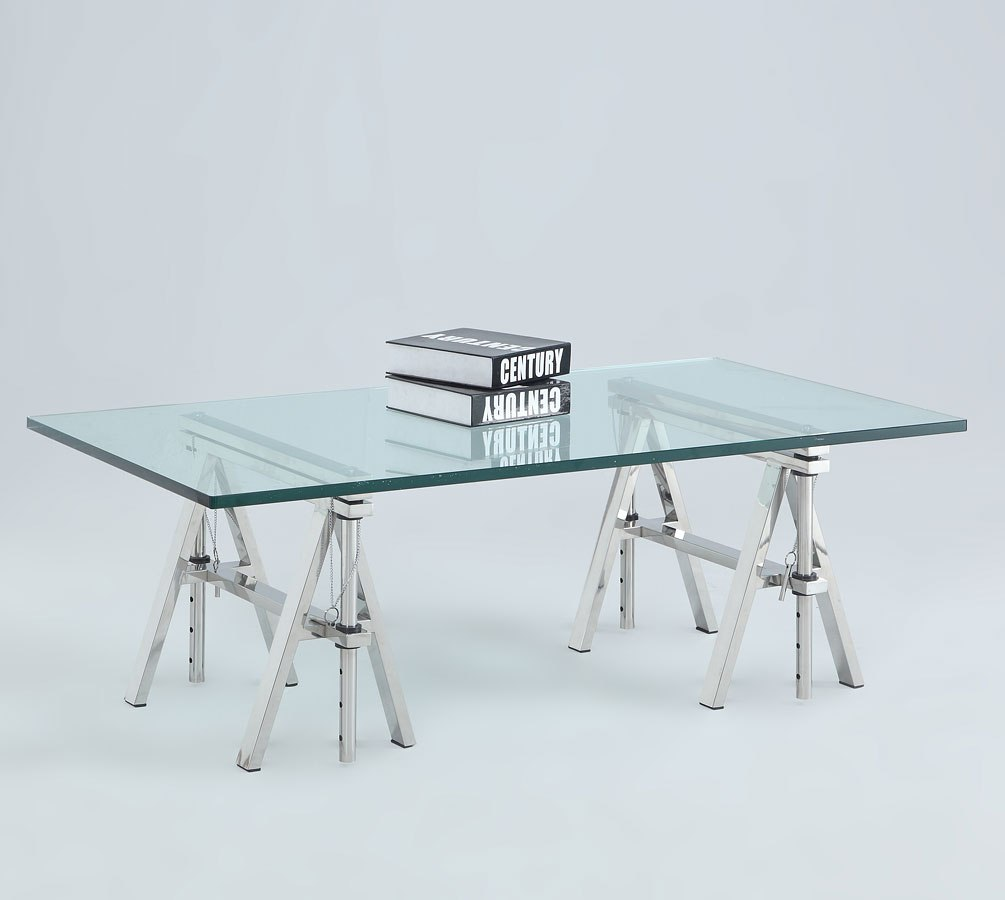 Chintaly Adjustable Coffee Table: Karen Adjustable Height Cocktail Table By Chintaly Imports