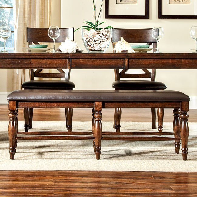 Kingston 54 Inch Backless Bench Dining Room And Kitchen Furniture