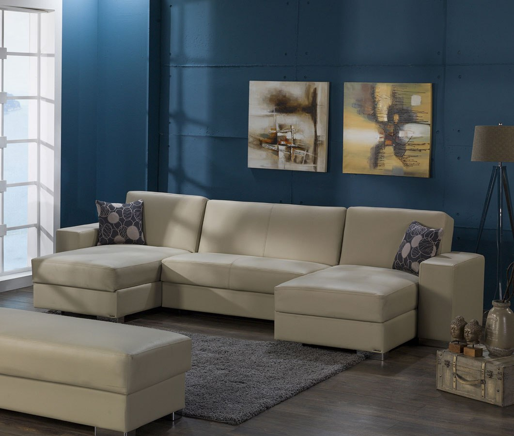 Kobe Small Modular Sectional Cream By Istikbal Furniture