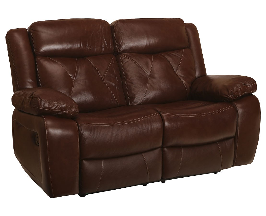 Benedict Dual Reclining Loveseat Light Brown By New