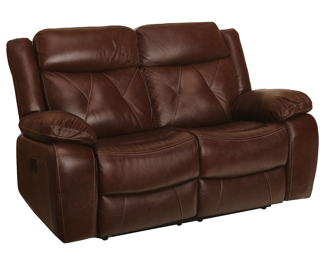 Benedict Power Reclining Loveseat Light Brown By New
