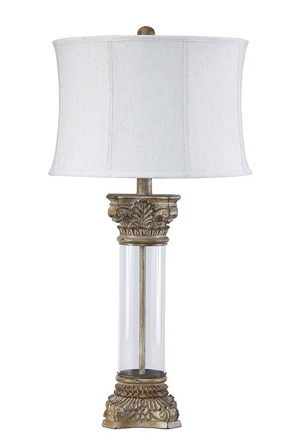 Jaylen Glass Table Lamp By Signature Design By Ashley