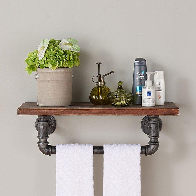 jarrett 24 inch floating wall shelf storage and. Black Bedroom Furniture Sets. Home Design Ideas