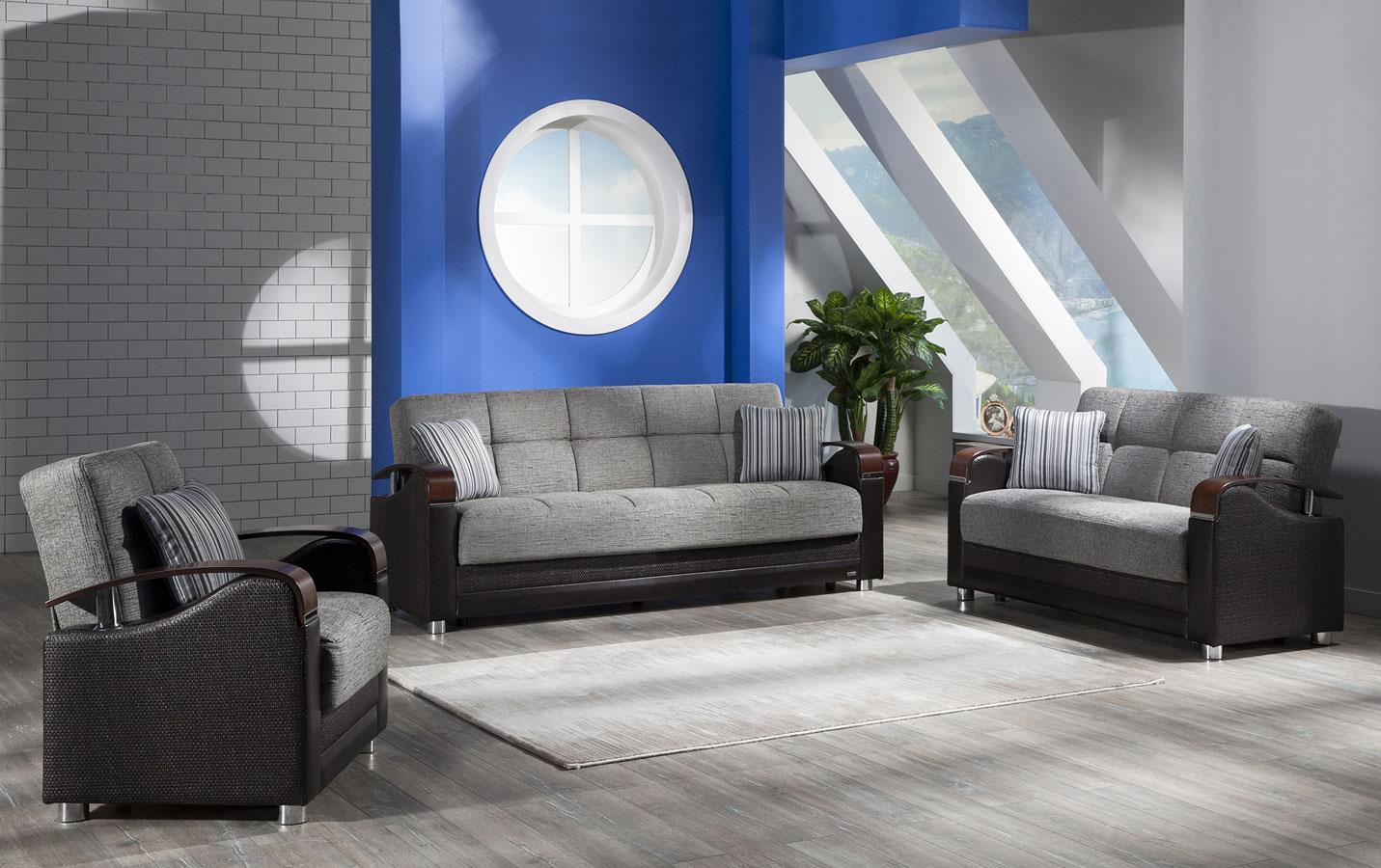 Luna Living Room Set Fulya Gray By Istikbal Furniture Furniturepick