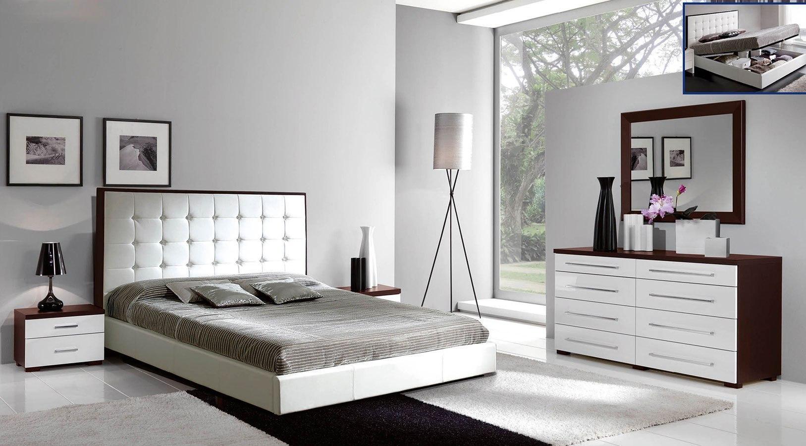 Luxury Bedroom Set w/ Penelope Storage Bed - Bedroom Furniture - Bedroom