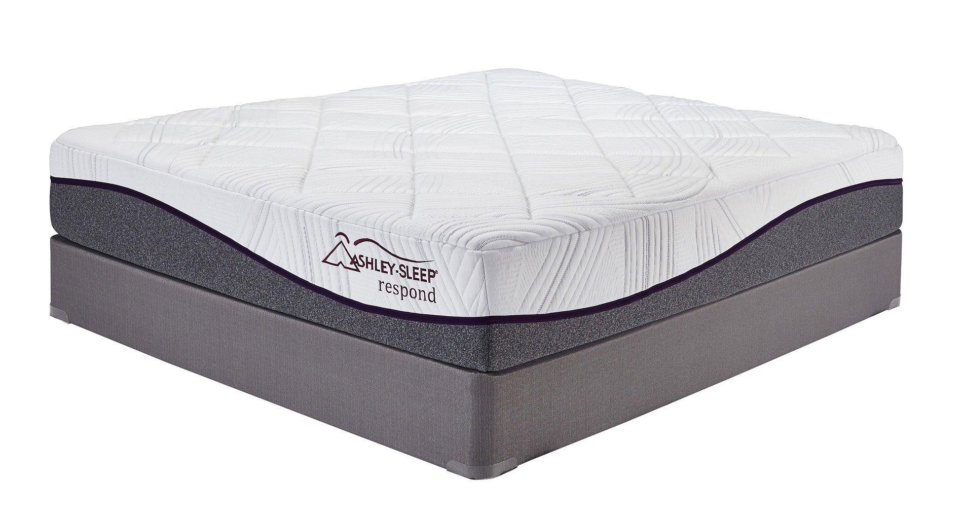12 Inch Respond Series Memory Foam Queen Mattress By Ashley Sleep
