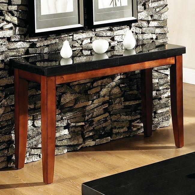 Granite Bello Sofa Table by Steve Silver Furniture | FurniturePick