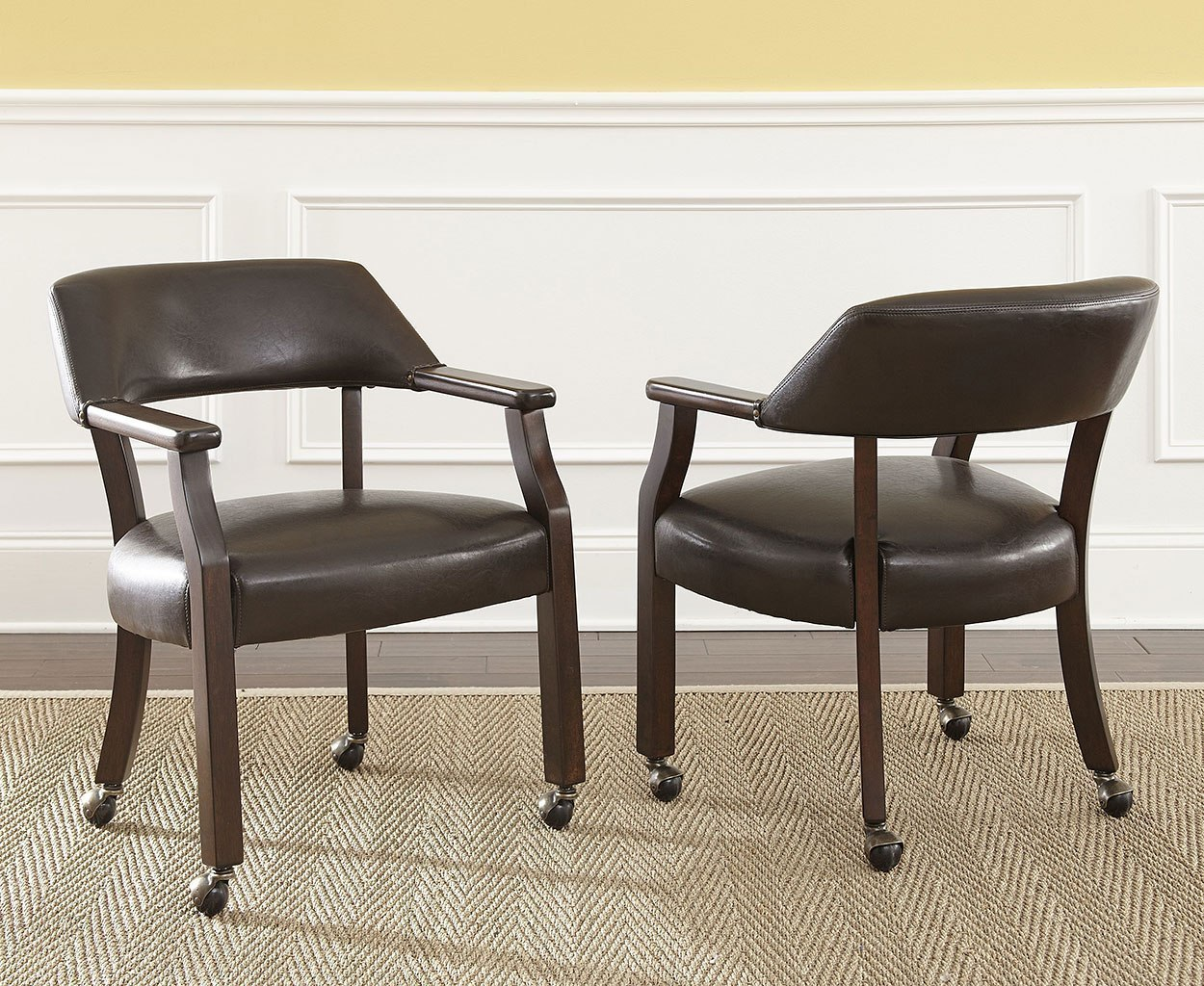 Morris arm chair set of 2 by steve silver furniture furniturepick