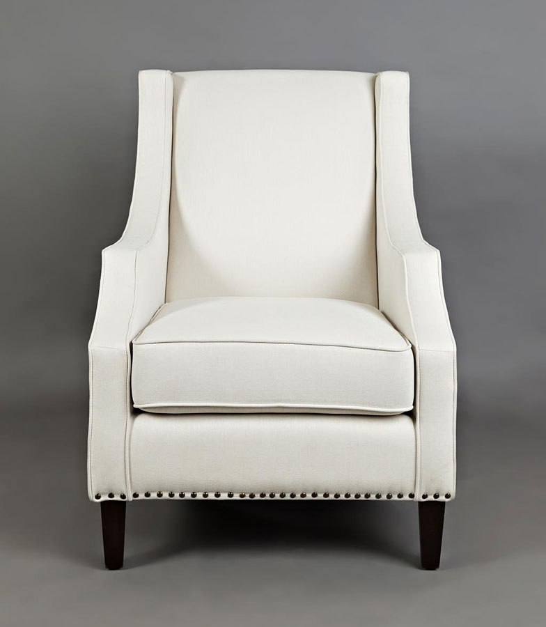 Morgan Accent Chair Ivory By Jofran Furniture