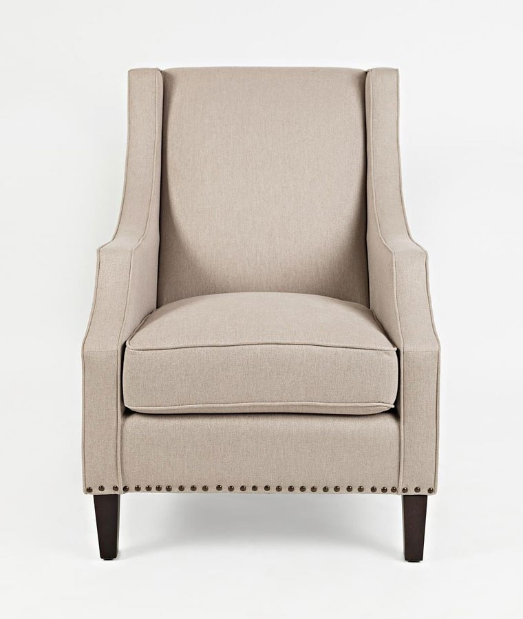 Accent Chair For Taupe Couch: Morgan Accent Chair (Taupe) By Jofran Furniture