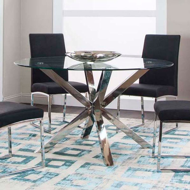 Clic 54 Inch Round Dining Table