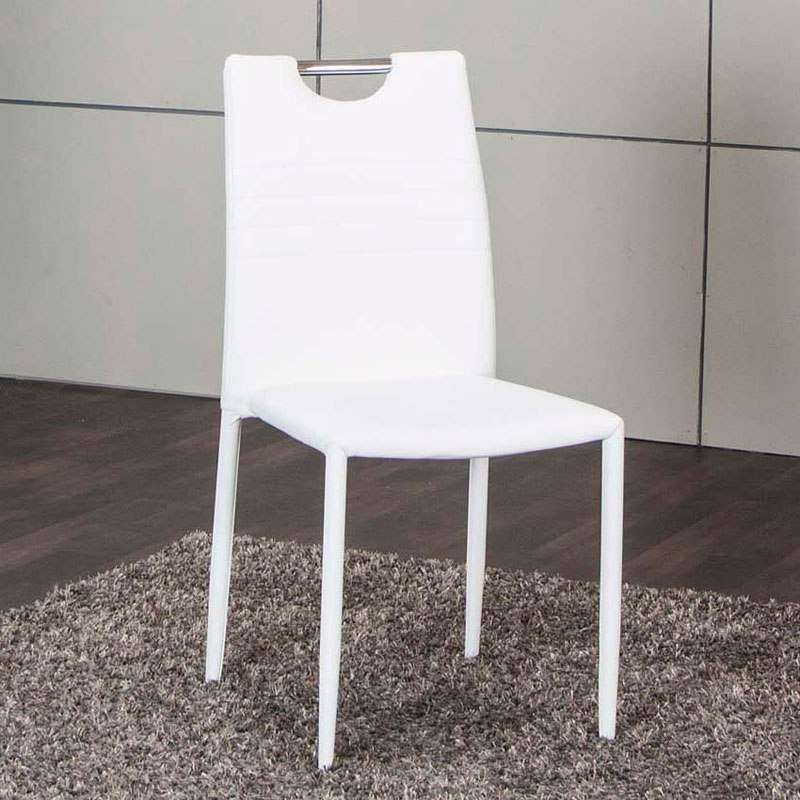 Fiesta Side Chair (White) (Set of 4) - Dining Room and Kitchen ... on kitchen remodeling, kitchen islands product, kitchen accessories, kitchen decorating, kitchen ceiling lights, kitchen carts, kitchen floor plans, kitchen work tables, kitchen rack, kitchen cupboard, kitchen models, kitchen hutch, kitchen curtain, kitchen cabinets, kitchen sink, kitchen design, kitchen backsplash ideas, kitchen chair, kitchen sideboard, kitchen antiques,