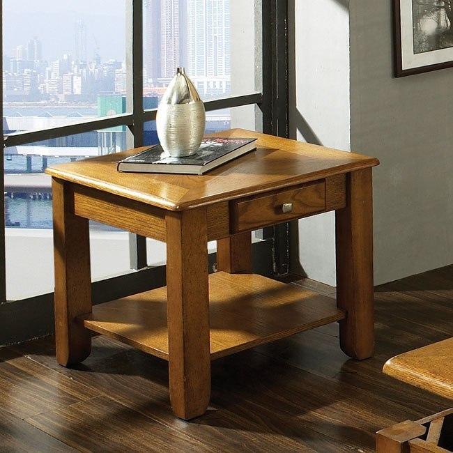 Nelson End Table (Oak) By Steve Silver Furniture